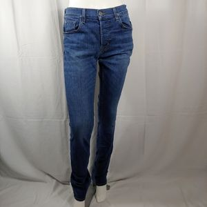 HUDSON Jeans Sartor Relaxed Skinny Jeans  Size 30